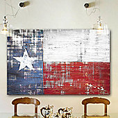 Parvez Taj Texas Wall Art - 76 cm H x 114 cm W x 5 cm D