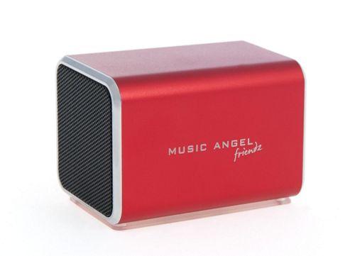Music Angel Friendz Red Speaker