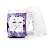 Fogarty Anti Allergy V Shaped Pillow with Pillowcase