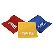 York Fitness Pilates Bands