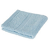 Tesco 100% Combed Cotton Face Cloth Breeze