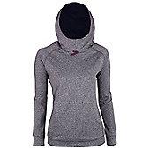 Alpine Womens Showerproof Hoodie - Dark grey
