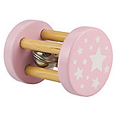 Bigjigs Toys BB052 Mini Roll Rattle (Pink)