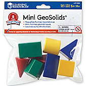 Learning Resources Mini GeoSolids Shape Set