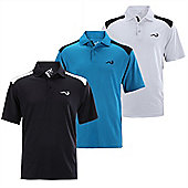 Woodworm Tour Performance V.2 Mens Golf Polo Shirts 3 Pack Medium