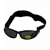 Idol Eyes Baby Wrap Sunglasses (Black)