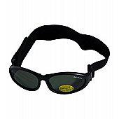 Idol Eyes Baby Wrap Sunglasses (Black)