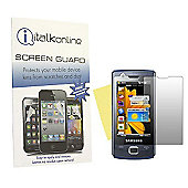 S-Protect LCD Screen Protector & Micro Fibre Cleaning Cloth - Samsung B7300 Omnia Lite