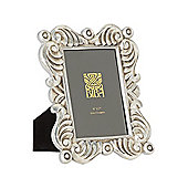 Pied A Terre Jasmine Silver Photo Frame 5X7 In Silver