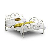 Arabella Stone White Eggshell 4FT6 Double 135cm Bed Frame