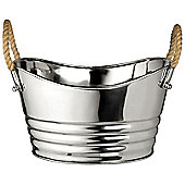 Parlane Silver Milan 'Party' Bucket With Handles - Champagne / Plant Pot