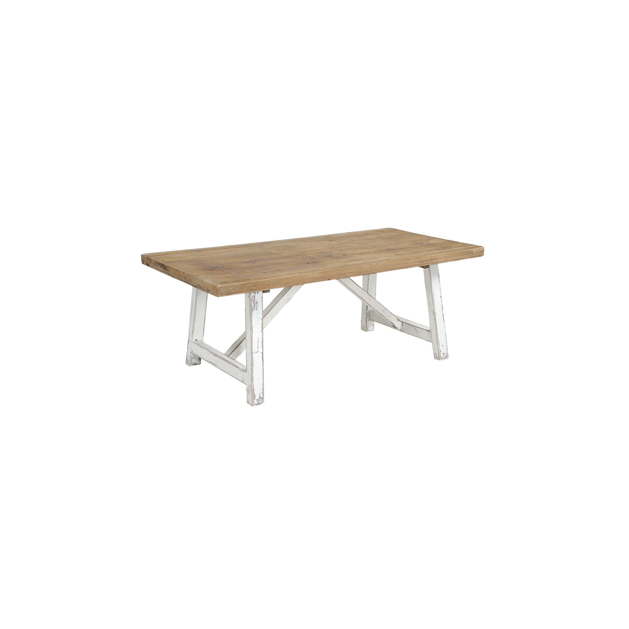 Rowico Aspen Coffee Table - White Distress Painted at Tescos Direct