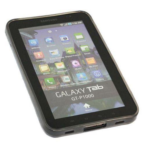 iTALKonline ProGel Skin Case Black - For Samsung P1000 Galaxy Tab