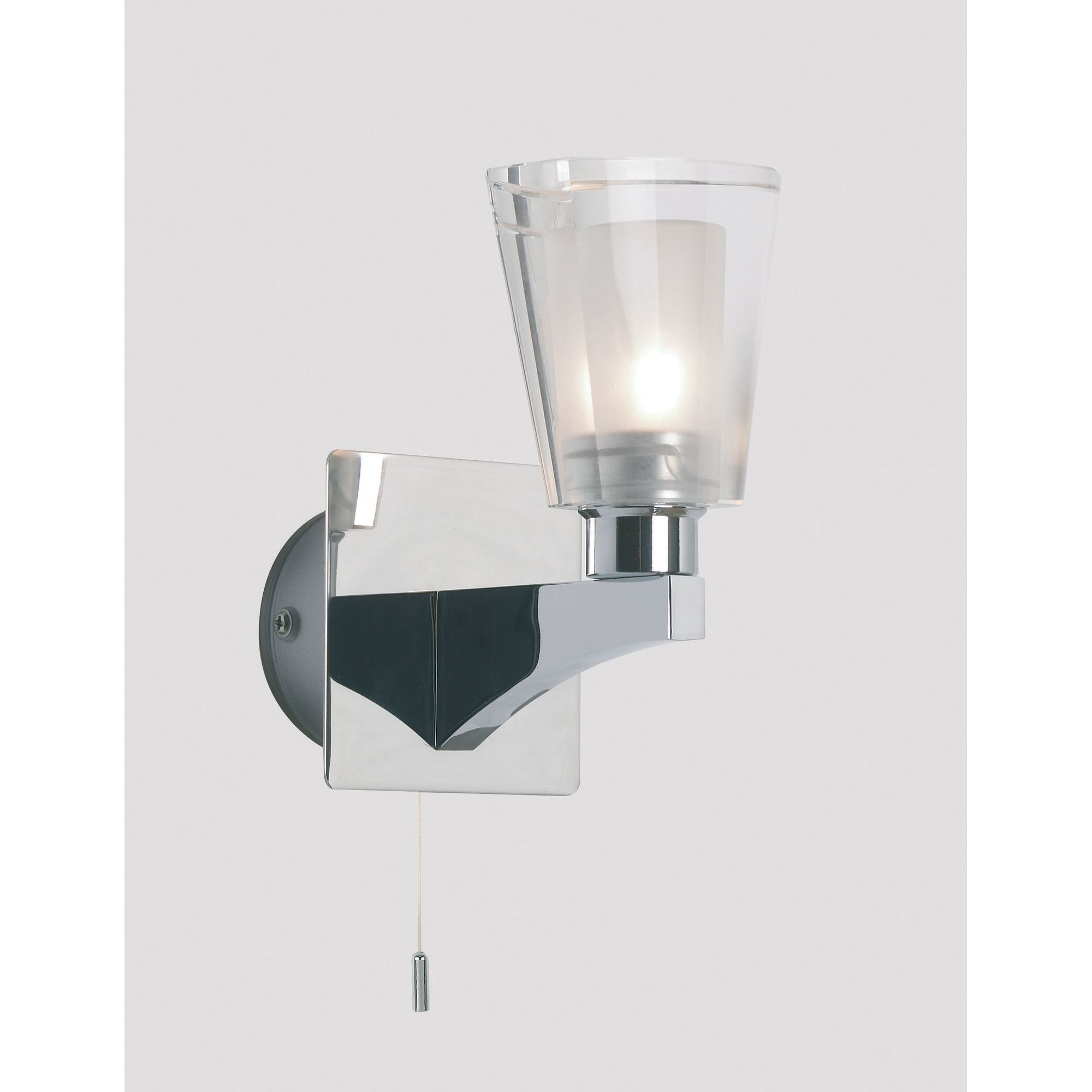 Chrome Garden Wall Lights : Home and garden > Lighting: Massive Ice One Light Wall Bracket in Chrome - Special Offers