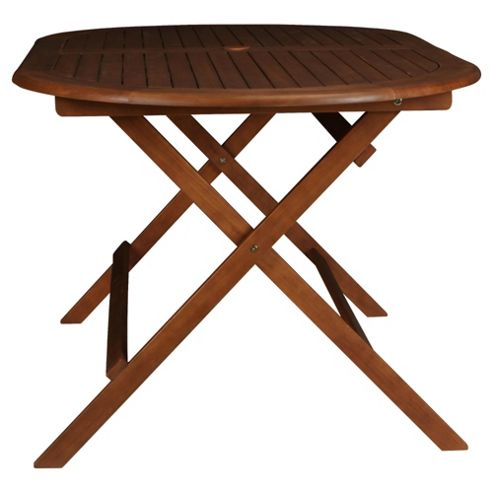 Windsor Wooden Oval Folding Table - 150cm