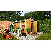 BillyOh 4000M Windowless Lincoln Tongue and Groove Double Door Apex Garden Shed