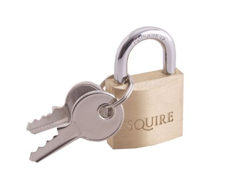 Henry Squire LP8 Leopard Brass Padlock 30mm