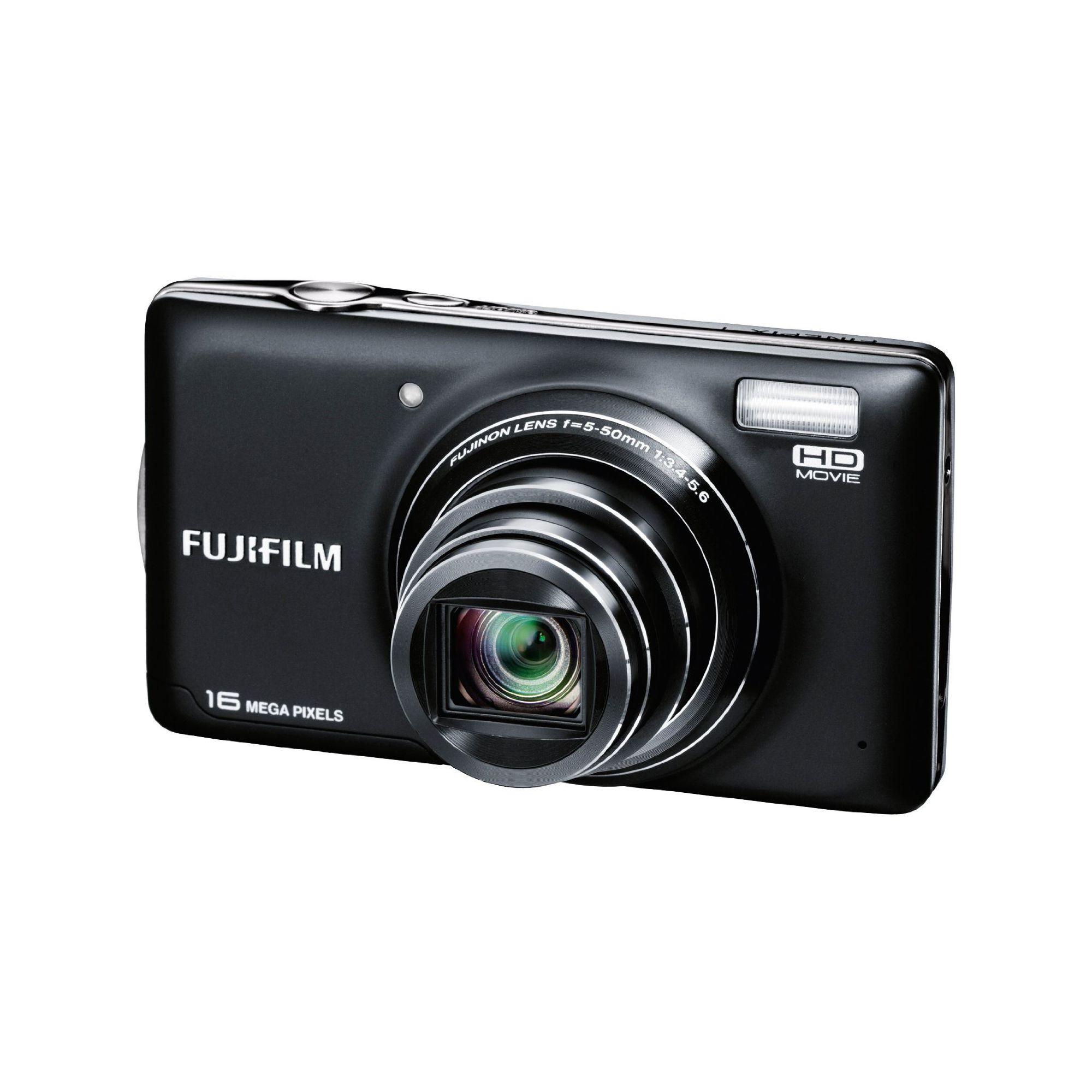 Fuji FinePix T400 Digital Camera, Black, 16MP, 10x Optical Zoom, 3.0 inch LCD Screen