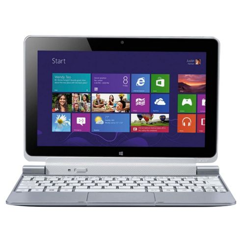 Acer Iconia W510 10.1 inch 64GB Windows 8, Silver