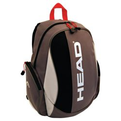 Head Vulcan Backpack, Black/Grey/Red