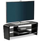 Alphason Francium Black TV Stand for up to 50 inch TVs