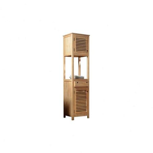 Tikamoon Coline Teak Cabinet Tower
