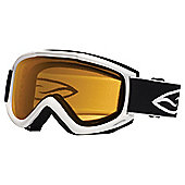 Smith Optics Cascade Classic Ski Goggle White/Gold Lite