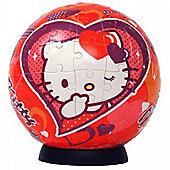 Hello Kitty 96 Piece Ball Jigsaw Puzzle Game