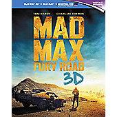 Mad Max Fury Road 3D Blu-ray