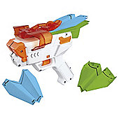 PPS Paper Plane Shooter Launcher White and Orange