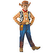 Rubies - Deluxe Woody - Child Costume 7-8 years