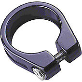 Acor Forged Alloy Bolt Seat Clamp: Black 29.8mm.