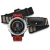 Garmin Fenix 3 Performer HR Bundle Silver
