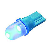 12V T10 Wedge Frost LED Blue