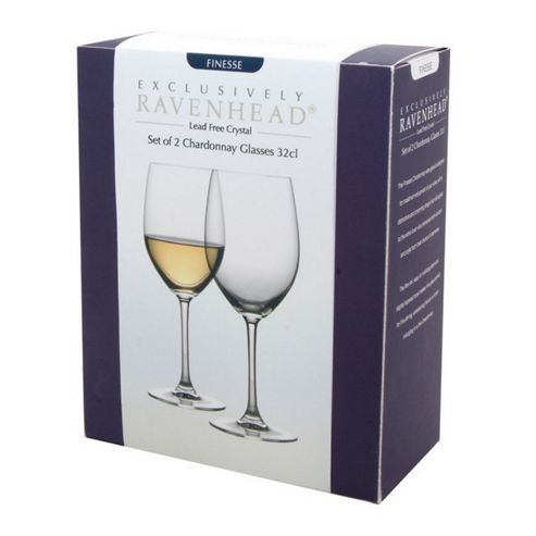 Set of 2 Chardonnay Glasses - 32cl