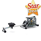 FluidRower Pacific Challenge AR Fluid Rower (Adjustable Resistance)