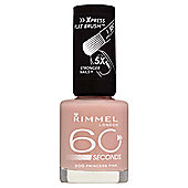 Rimmel 60 Seconds Nail Polish - Princess Pink