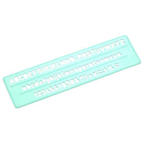Linex Standard Lettering Stencil - 5mm