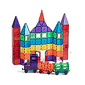 Playmags 3D Magnetic Building Blocks - 100 Piece Set