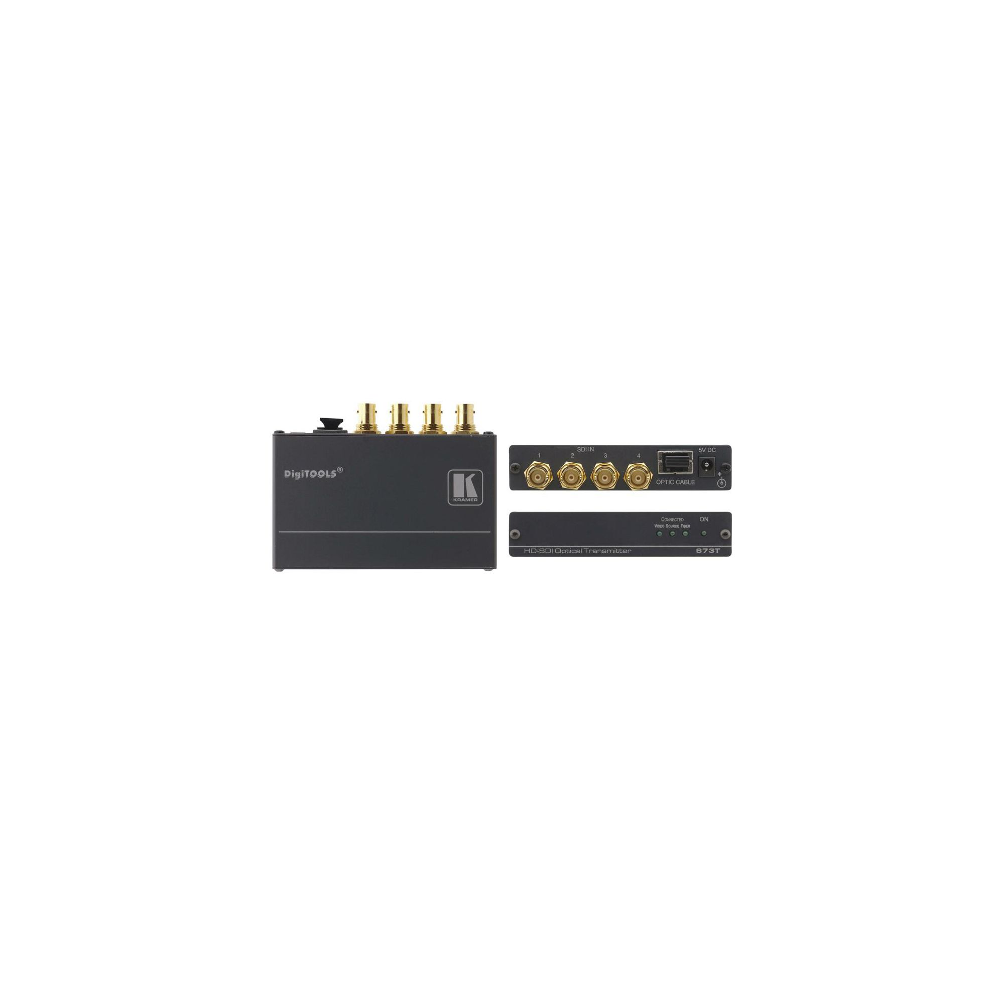 3G HD-SDI 4 CHANNEL OVER FIBRE OPTIC RECEIVER at Tesco Direct