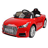 Rastar 12V Audi TT Ride On Car Red