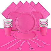 Hot Bright Pink Party Pack For 20