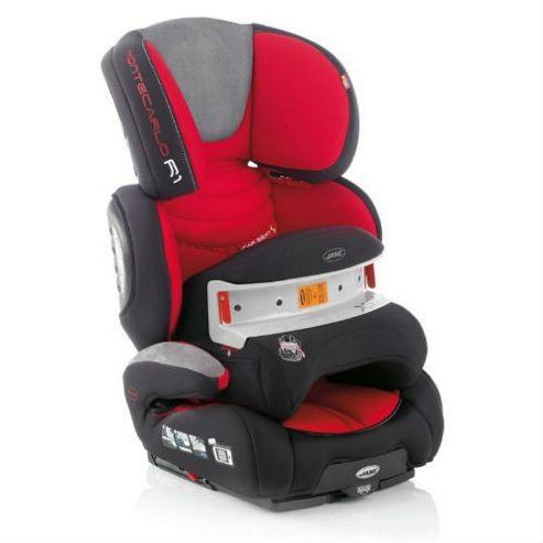 Jane Montecarlo R1 Isofix Car Seat + Xtend (Burnt Red)
