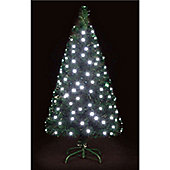 7ft White Snowbright Multifunction LED Tree