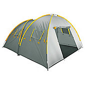 Tesco 4-Man Twin Dome Family Tent