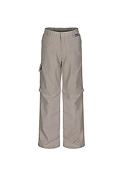 Regatta Kids Sorcer Zip Off Trousers - Beige