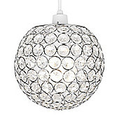 Ducy Ceiling Pendant Light Shade in Chrome