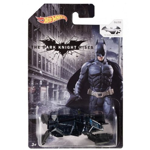 Hot Wheels 1.64 Batmobile Batman The Dark Knight Rises 06