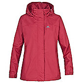 Trespass Ladies Nasu Waterproof Jacket - Pink
