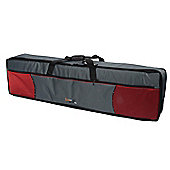 Tom and Will 76 Note Keyboard Bag - Red and Grey